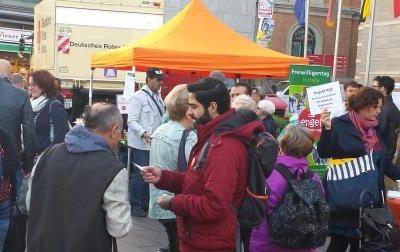 13. Freiwilligentag Halle - Auftaktverantstaltung auf dem Marktplatz